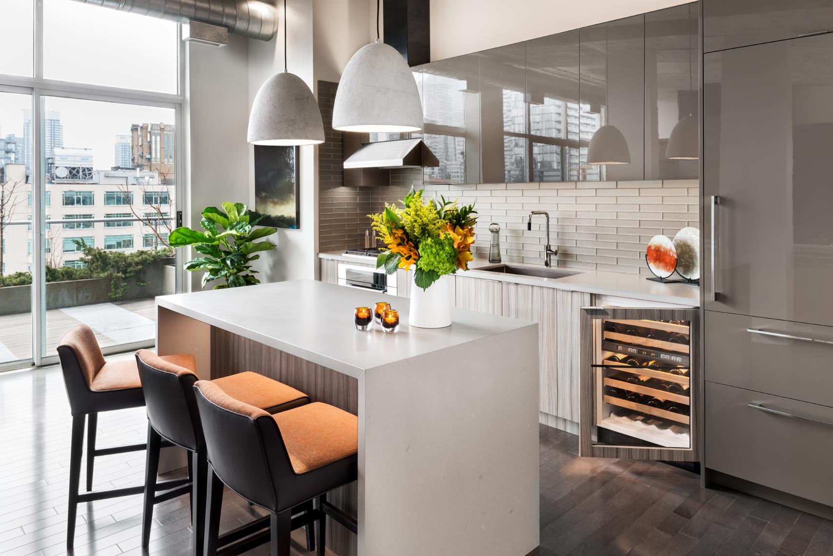 Penthouse Kitchen - Sheree Stuart Design