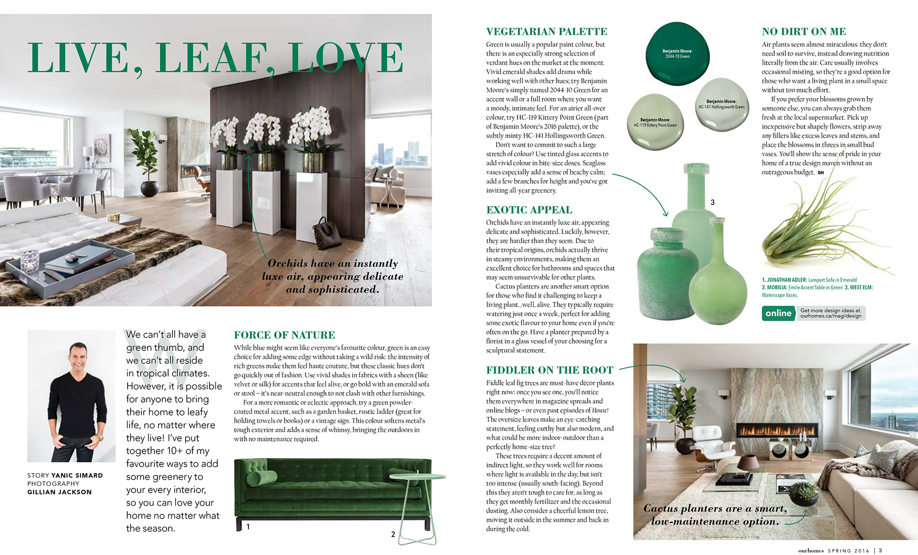 Our Homes Magazine - Spring 2016