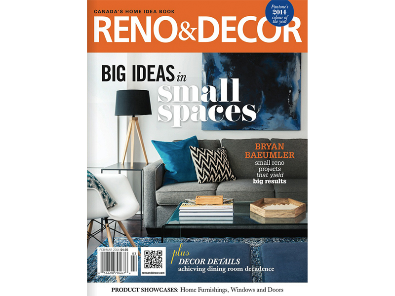 Reno & Decor Cover - Feb:Mar 2014