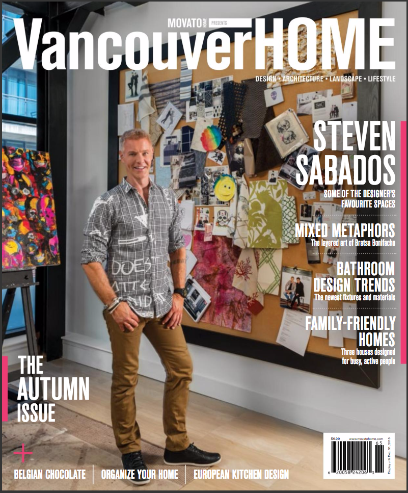 Steven Sabados - Cover Fall 2016 - Vancouver Home