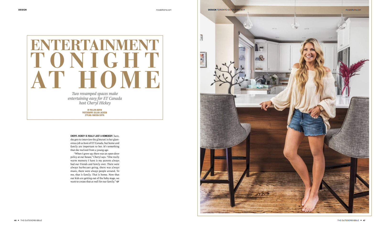Cheryl Hickey - 2017 Outdoor Issue - Toronto Home Magazine
